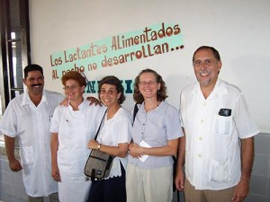 Group at Cuban Hospital