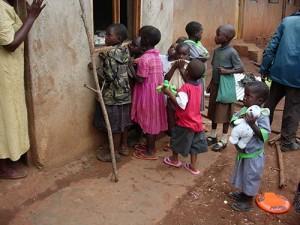 Children at a Kenyan Orphanage
